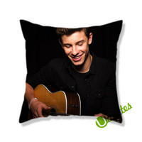 Shawn Mendes Music Square Pillow Cover
