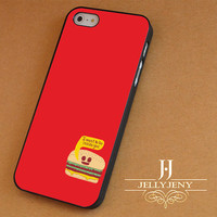 Burger Funny iPhone 4 5 5c 6 Plus Case | Samsung Galaxy S3 S4 S5 Note 3 4 Case | iPod 4 5 Case | HtC One M7 M8