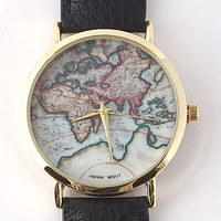 Wanderlust Watch - Black
