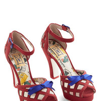 Miss L Fire Darling Finesse is More Heel in Red