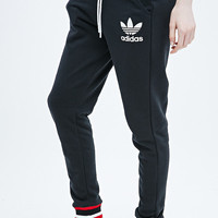 Adidas Archive Joggers in Black - Urban Outfitters