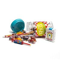 50's Decade Retro Candy Gift Jar