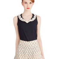 ModCloth Quirky High Waist Mew Unto Others Shorts