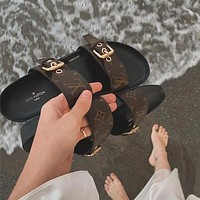 LV Fashion casual slippers