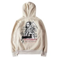 YEEZY Stylish Fashion Print Devil Hoodies [103848738828]