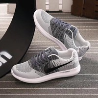 """""""Nike"""" Men Sport Casual Multicolor Flyknit Running Shoes Breathable Sneakers"""