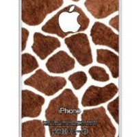 iZERCASE Giraffe Spots Animal Pattern RUBBER iphone 5 / iPhone 5S case - Fits iphone 5, iPhone 5S T-Mobile, Verizon, AT&T, Sprint and International