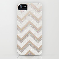 NUDE CHEVRON iPhone & iPod Case by Monika Strigel