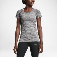 The Nike Dry Knit Women's Short Sleeve Top.