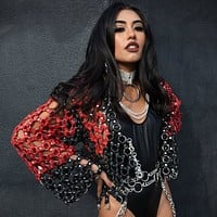 The Chain Reaction Leather Jacket