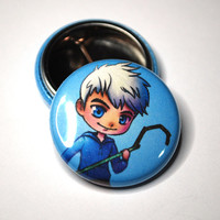 Jack Frost 1 Inch Pinback Button