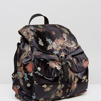 Reclaimed Vintage Inspired Dragon Backpack at asos.com