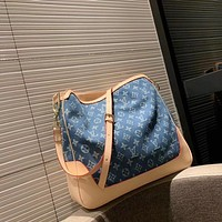 LV Louis Vuitton MONOGRAM JEANS CANVAS INCLINED SHOULDER BAG