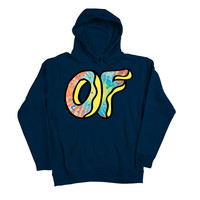 AWESOME DONUT HOODIE NAVY – Odd Future