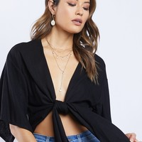 Giselle Tie Front Top