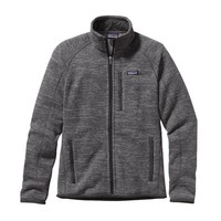 Patagonia Men's Better Sweater® Fleece Jacket | Nickel w/Forge Grey
