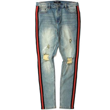 Double Helix Jeans Earth Tone