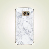 White Marble Granite TPU Soft case Samsung Galaxy S5 case, S6 case, S6 edge case, Note 3 case, Note 5 case, S6 plus edge case