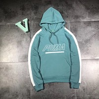 PUMA Woman Men Fashion Hooded Top Sweater Pullover Hoodie