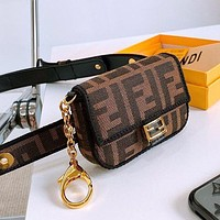 Fendi New belt bag mini bag lipstick coin purse (removable belt for separate use)