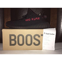 Yeezy Boost 350 V2 Bred Black Red Size 11 100% AUTHENTIC OYMB!