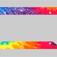 Summer Tie Dye - License Plate Frame