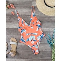 Final Sale - MINKPINK - Enchanted Forest One Piece - Multi