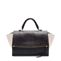 LEATHER CITYBAG WITH ZIP - Coats - Woman | ZARA United States