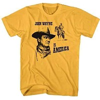 'John Wayne Is American' Tee Shirt