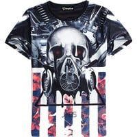 Melting Gas Mask Tee