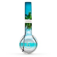The Paradise Beach Palm Tree Skin Set for the Beats by Dre Solo 2 Wireless Headphones