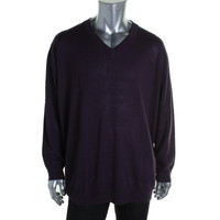 Club Room Mens Wool Blend Knit Pullover Sweater