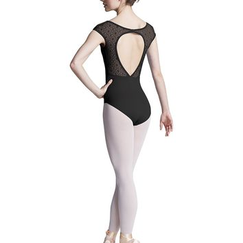 Open Back Cap Sleeve Leotard L9552 by Bloch