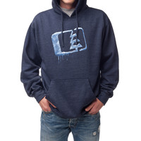 Chilled Hoodie Navy Heather