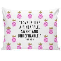 Pineapple Theamed Pillowcase