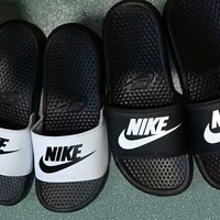 """Nike"" Men Casual Letter Hook Slippers Summer Beach Sandals Home Shoes"