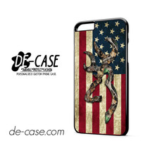 Browning Deer Camo American Flag DEAL-2143 Apple Phonecase Cover For Iphone 6 / 6S Plus