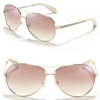 MARC BY MARC JACOBS Mirror Lense Aviator Sunglasses | Bloomingdales's