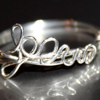 Wire Wrapped Jesus Ring Religious, Church, Jesus, Gift, Wedding Gift, Baby Shower Gift, Simple, Chic, Inspirational