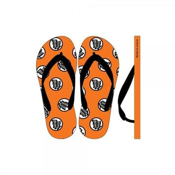 Dragon Ball Z Unisex Flip Flops Anime Bioworld Officially Licensed