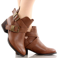Bronco-11 Ankle Riding Boots