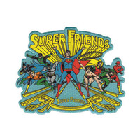 Super Friends Iron-On Patch