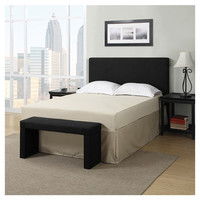 You should see this Byanca Queen Panel Bed in Black on Daily Sales!