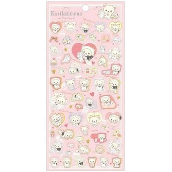 Korilakkuma Cat Pink Stickers
