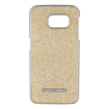 Swarovski® Crystal Protective Cover for Galaxy S® 6 edge, Golden Shadow