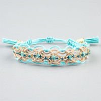Rose Gonzales Shore Naomi Bracelet Aqua One Size For Women 24880224001