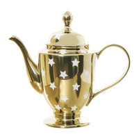 Buy Miss Étoile Gold & White Stars Teapot | Amara
