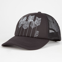 O'neill Beach Bound Womens Trucker Hat Black One Size For Women 25110710001