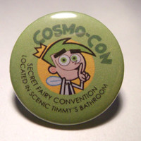 "Nickolodeon's Fairly Odd Parents Cosmo-Con Pinback Button (1-1/4"")"