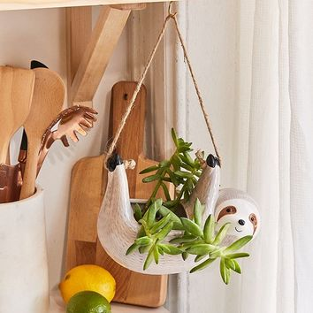 Sloth Hanging Planter | Urban Outfitters